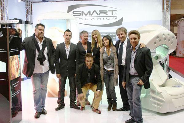 il team Smart Solarium presente a Milano